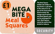Mega Bite Meal Squares